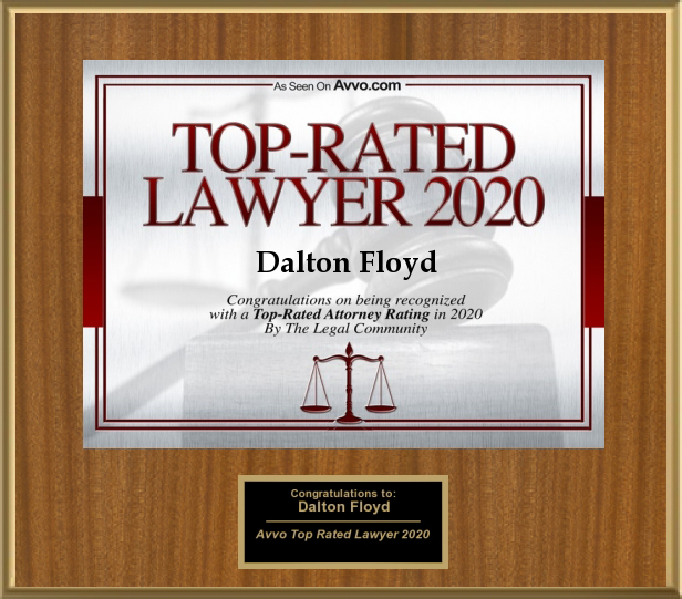 Top Rated Lawyer for AVVO 2020