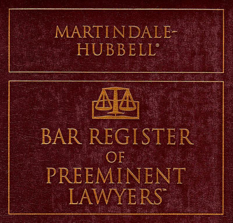 Martindale-Hubbell Preeminent Lawyers Award - Dalton Floyd, Jr.